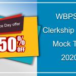 WBPSC Clerkship Mock Test