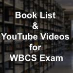 WBCS Book List
